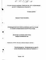 Организация вагонопотоков на железных дорогах России в условиях  Организация вагонопотоков на железных дорогах России в условиях формирования конкурентной среды тема диссертации по экономике